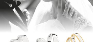 They have arrived! The latest wedding rings from AURODESIGN, tessina and Mémoire.