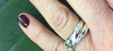 De vintage drie-in-één-ring is opnieuw uitgevonden!
