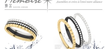 Sparkling new Mémoire rings